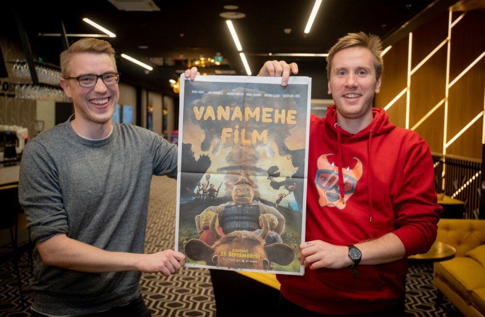 """""""Vanamehe filmi"""" režissöörid ja stsenaristid Oskar Lehemaa ning Mikk Mägi"""