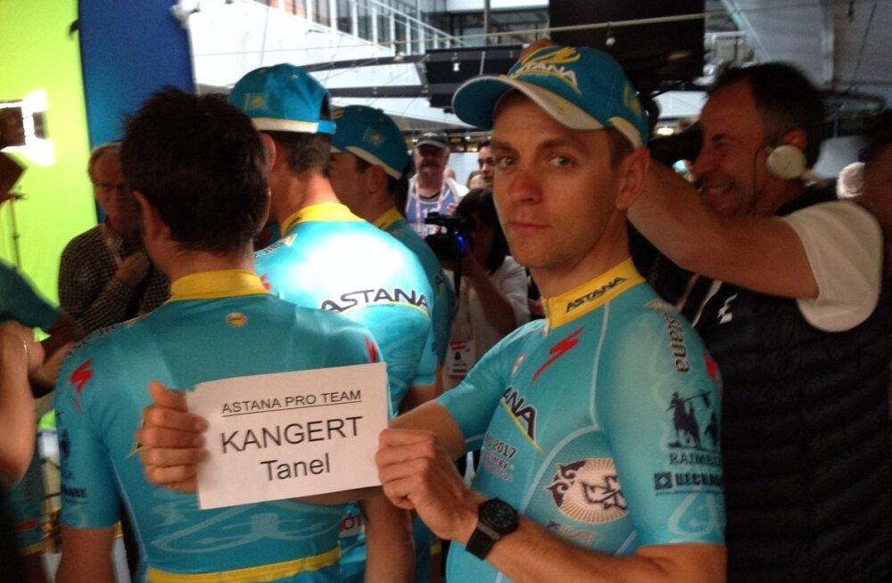Tanel Kangert Giro d`Italia esitlusel