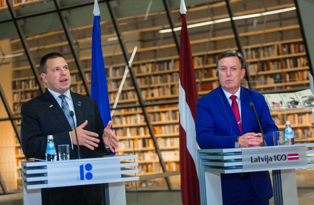 Läti valitsus Eesti eeskujul aktsiise tõstma ei asu