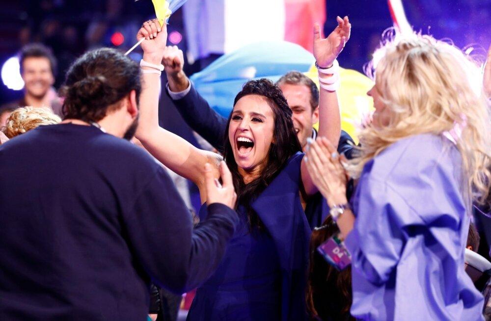 Jamala, Ukraina võitja Eurovisionil 2016