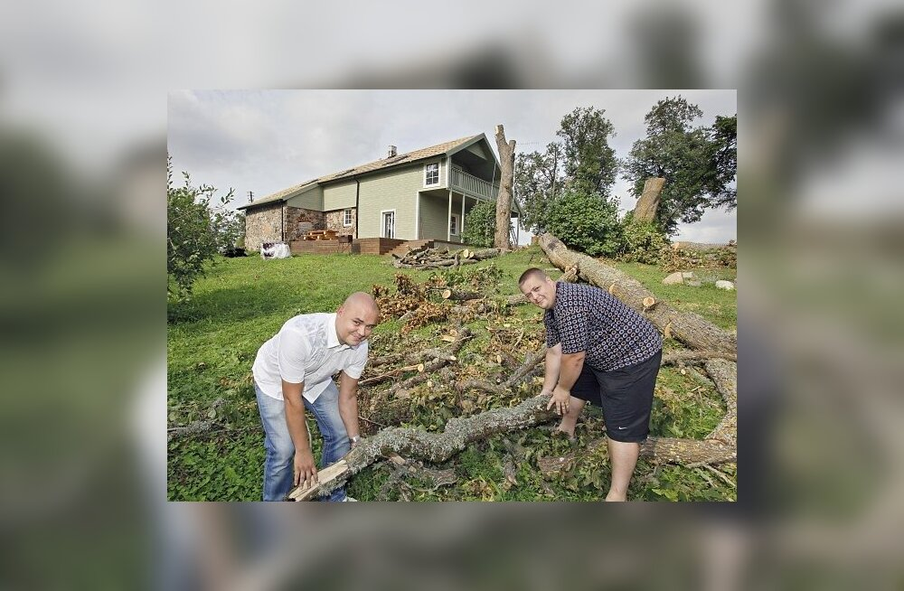 Milliseid tormi- ja äikesekahjusid kindlustus korvab