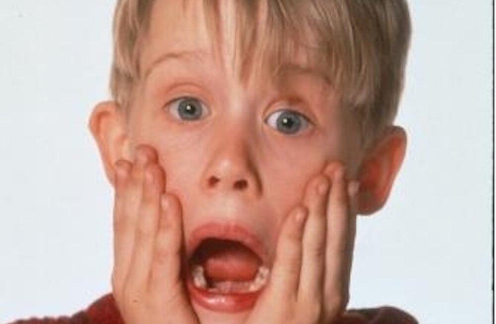 """Testi oma """"Üksinda kodus"""" teadmisi! Jõululemmik on täna õhtul jälle eetris!"""