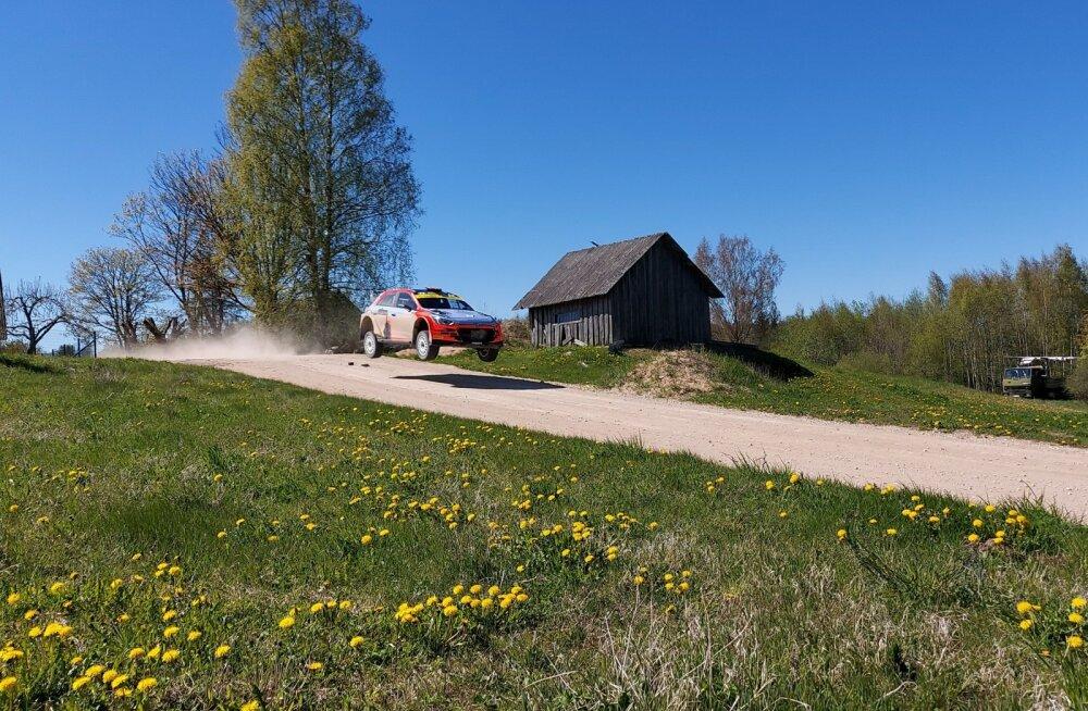 Ott Tänaku test Lõuna-Eestis