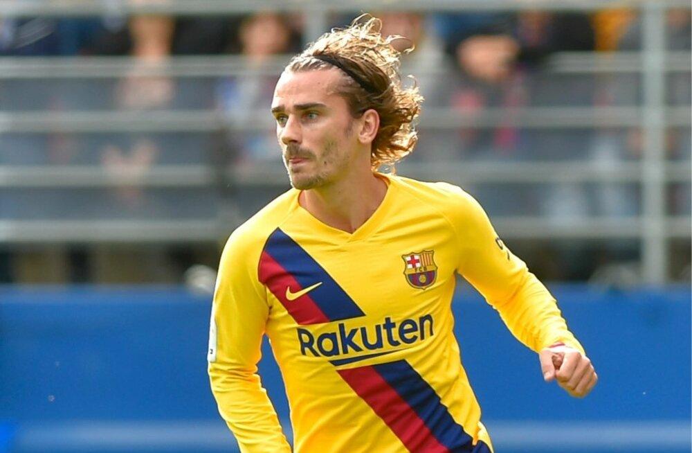 Antoine Griezmann on Barcelona särgis löönud seni neli väravat.
