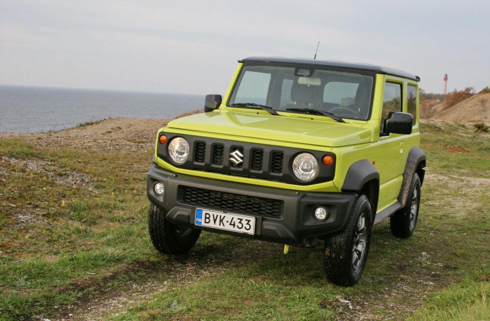 Suzuki Jimny: iMaastur