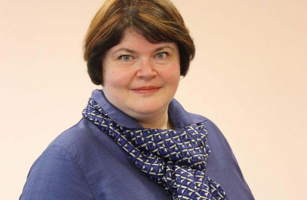 BLRT Grupi  personalidirektor Viktoria Goihinberg.