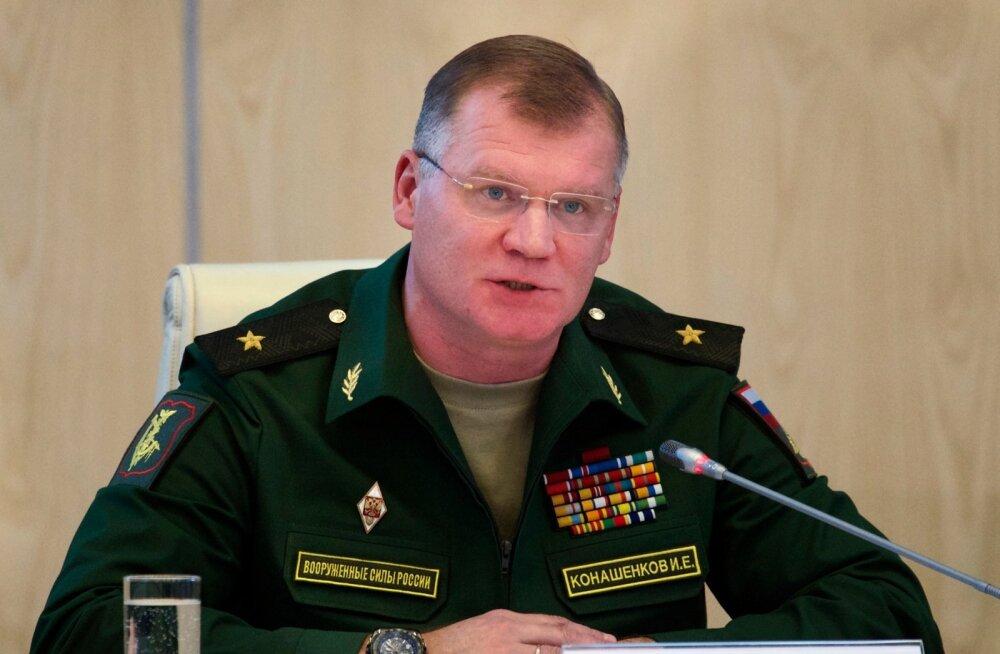 Vene kaitseministeerium kommenteeris uudist Vene eriväelastest Egiptuses: sellised nägemused külastavad anonüüme Ukrainas ja Baltimaades
