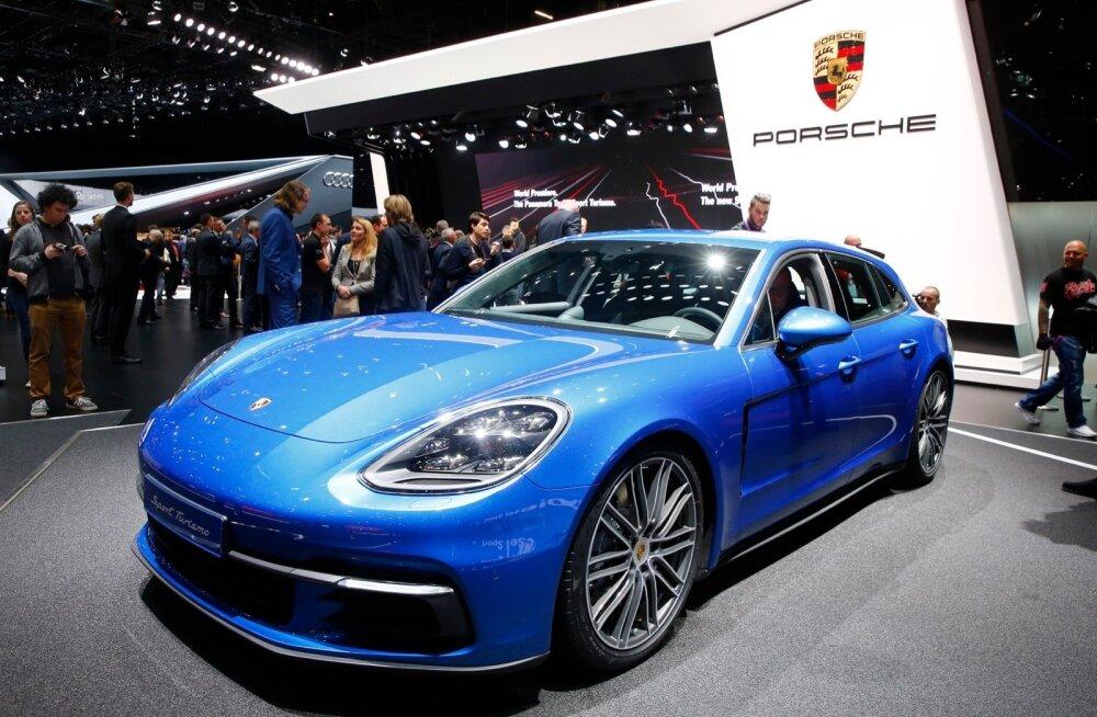 Mugavalt pikale reisile: Porsche Panamera Sport Turismo