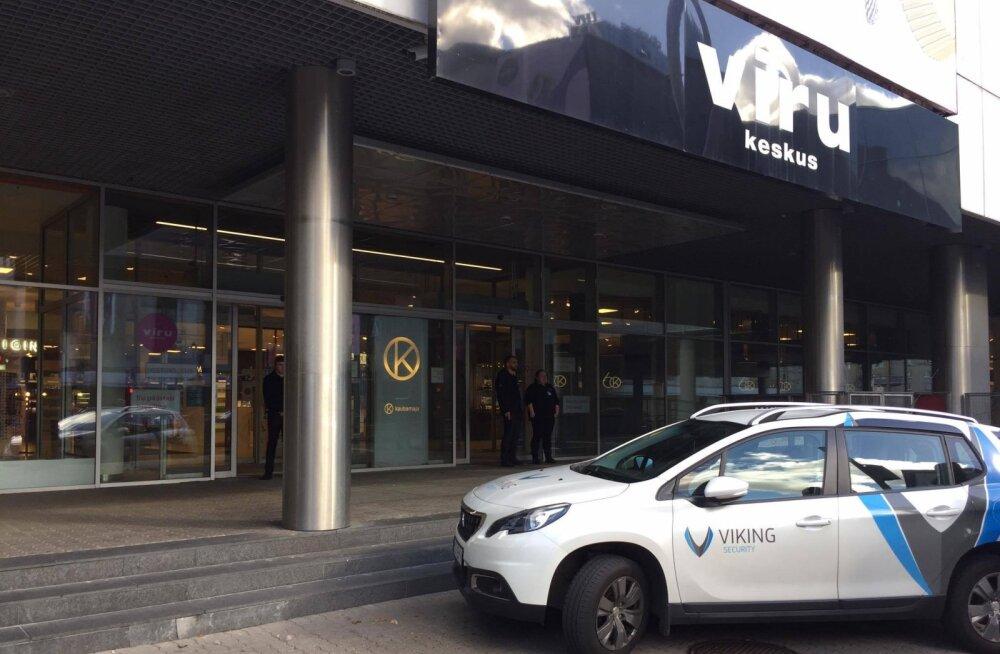 ФОТО | Столичный торговый центр Viru Keskus был эвакуирован