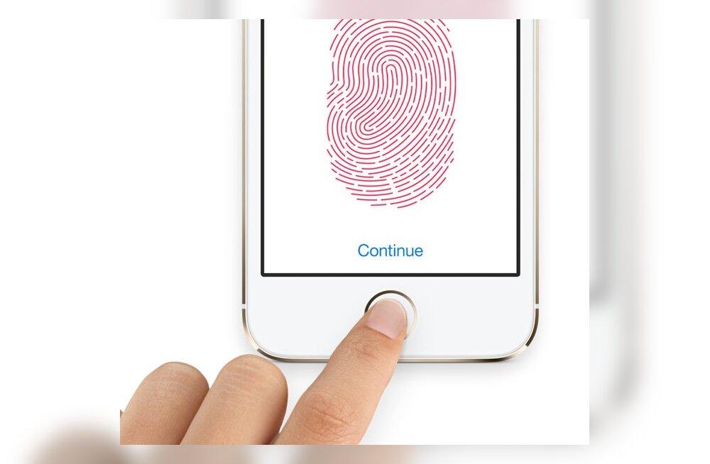 iPhone 5si sõrmejäljelugeja