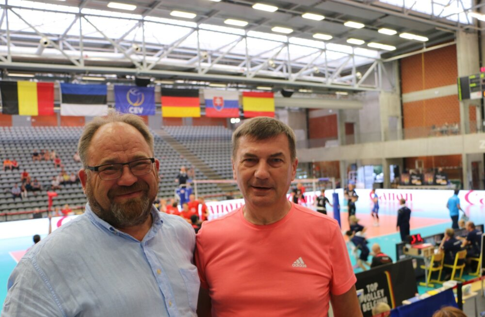 Võrkpallikoondist toetanud Andrus Ansip lasi Saksamaa vastu käiku oma trumpkaardi