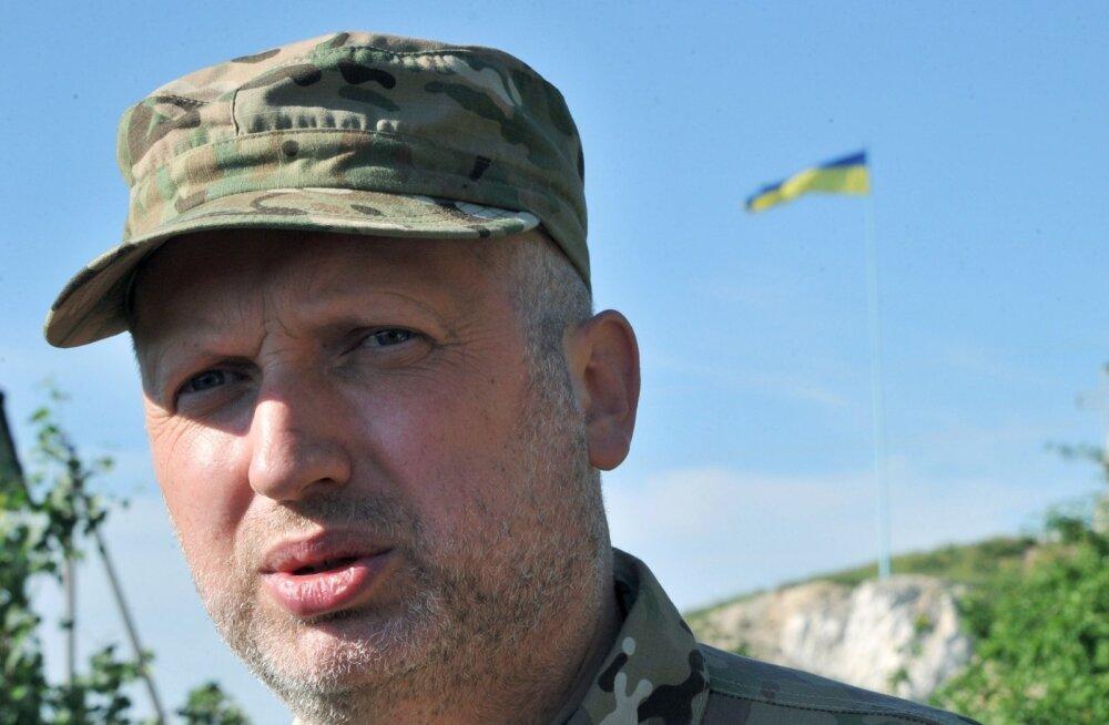 Turtšõnov: Vene vägede aktiviseerumise korral kehtestab Ukraina sõjaseisukorra ja mobiliseerib kõik jõud