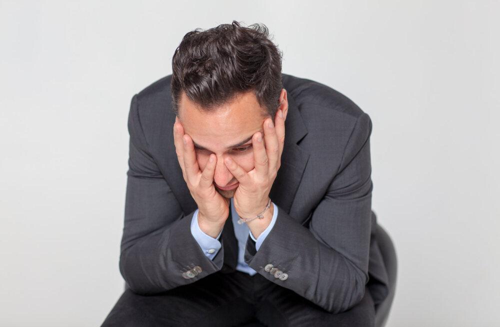 Mees, kui sul avalduvad need sümptomid, on sul kohe kindlasti keskeakriis ja ära püüagi seda eitada