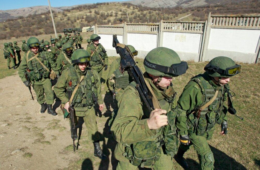 GRAAFIK: Vaata, kuhu Venemaa Ukrainas ja selle piiridel vägesid koondab