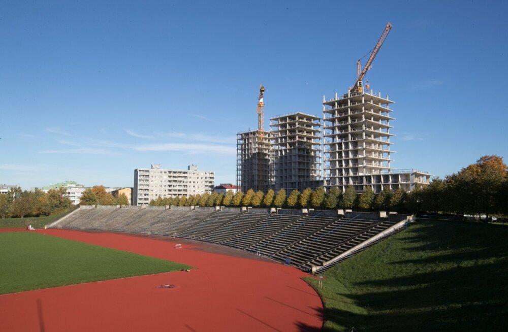 Kalevi Panoramasse korteri ostja saab ühtlasi priipääsme Kalevi staadionil toimuva jälgimiseks.