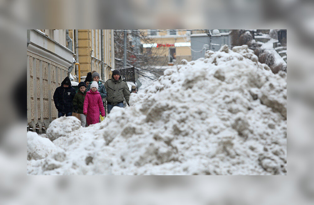 Сколько снега нужно, чтобы парализовать город?