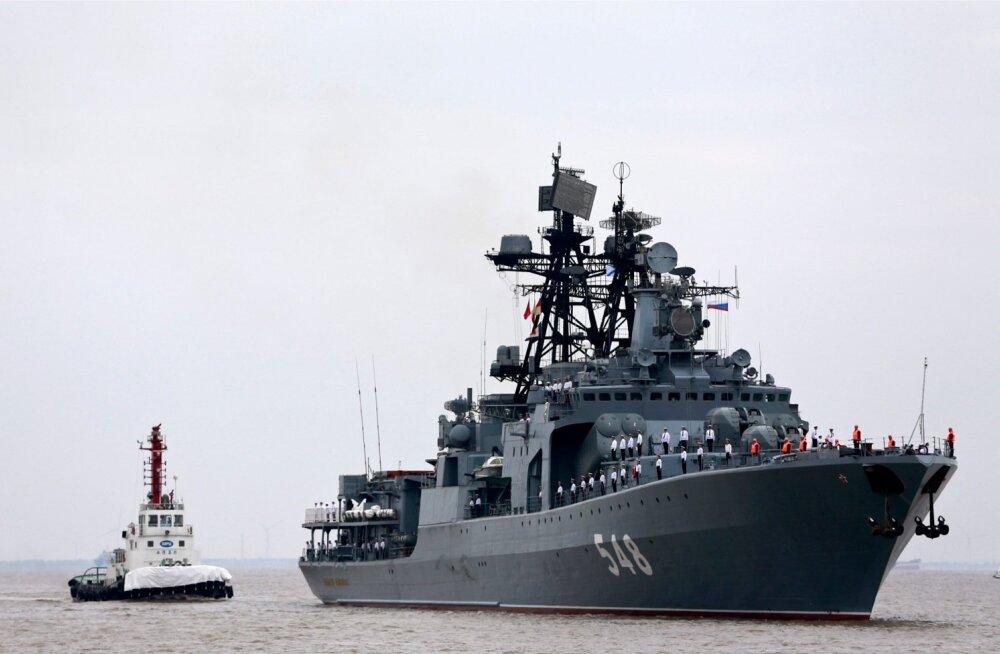 Putin andis käsu Põhjalaevastiku ning Lääne sõjaväeringkonna ja dessantvägede mõnede üksuste lahinguvalmiduse kontrolliks
