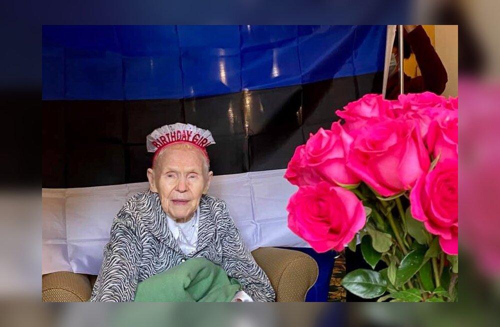 ФОТО | Самая старая эстонка в мире отметила свой день рождения в США. Ей исполнилось 108 лет