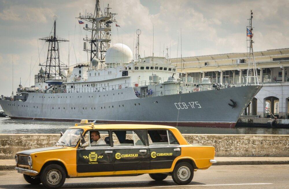 """CNN: USA ranniku lähistel tegutseb """"ohtlikul viisil"""" Vene luurelaev"""