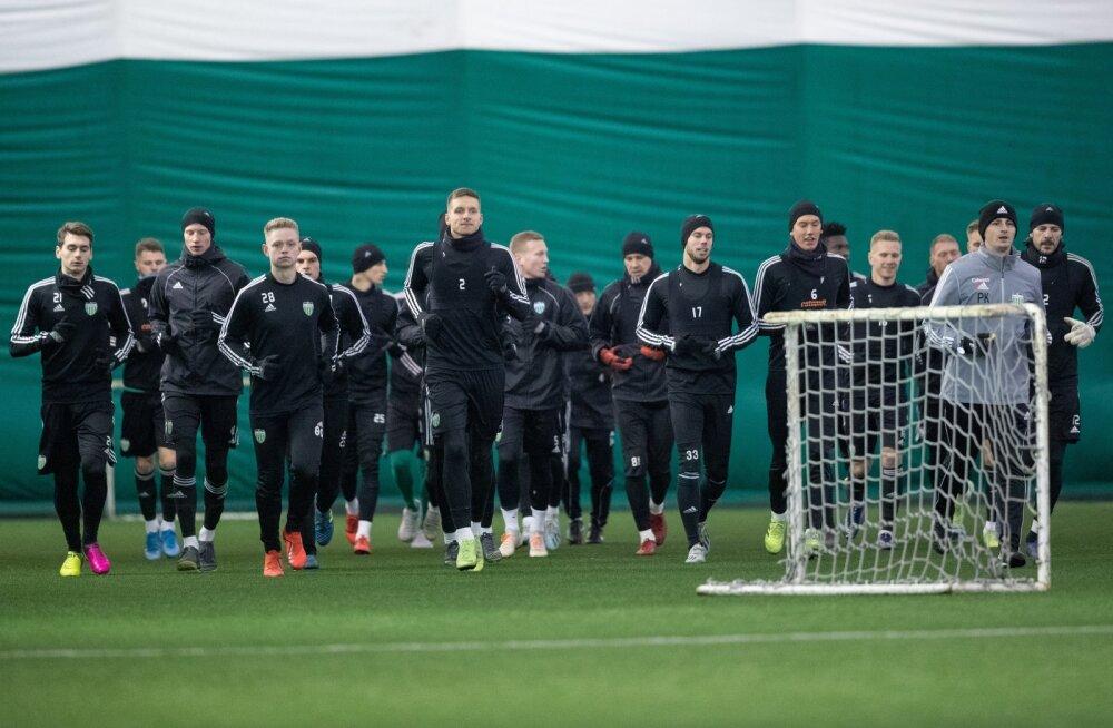 Tallinna FCI Levadia treening