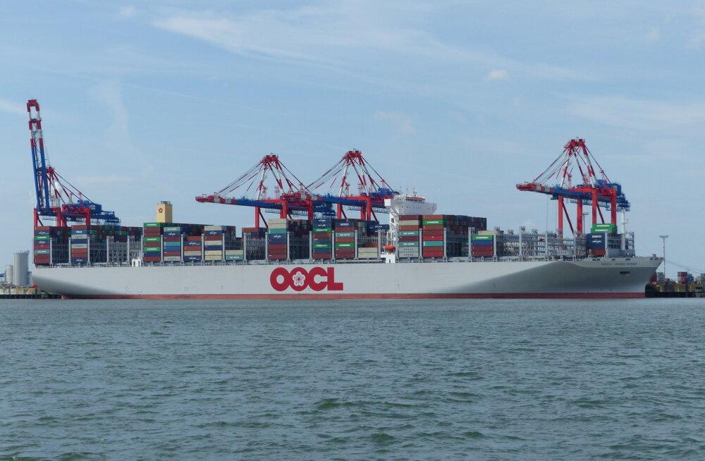 Uuema aja laevad on juba nii suured, et ei mahu enam sadamasse