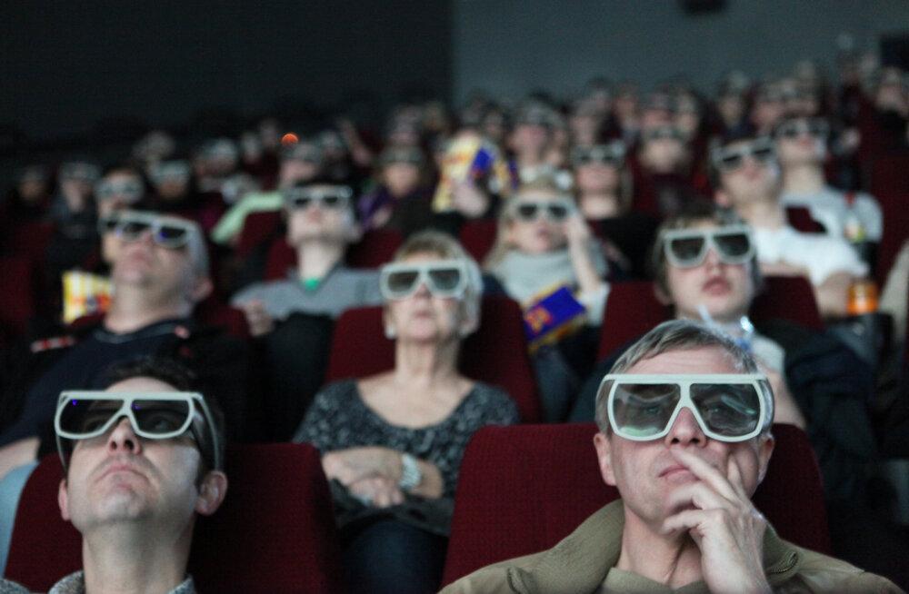 3D filmi vaatajad
