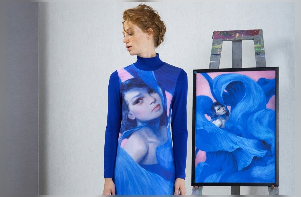 Unikaalne kunstiplatvorm Wear-Arts ühendab moe- ja kunstimaailma