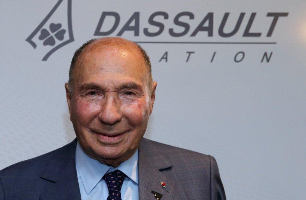 93-aastaselt suri oma kontoris Prantsuse miljardärist kaitsetööstur Serge Dassault