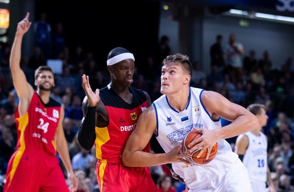 Maik-Kalev Kotsar mängis Saksamaa vastu jõuliselt.