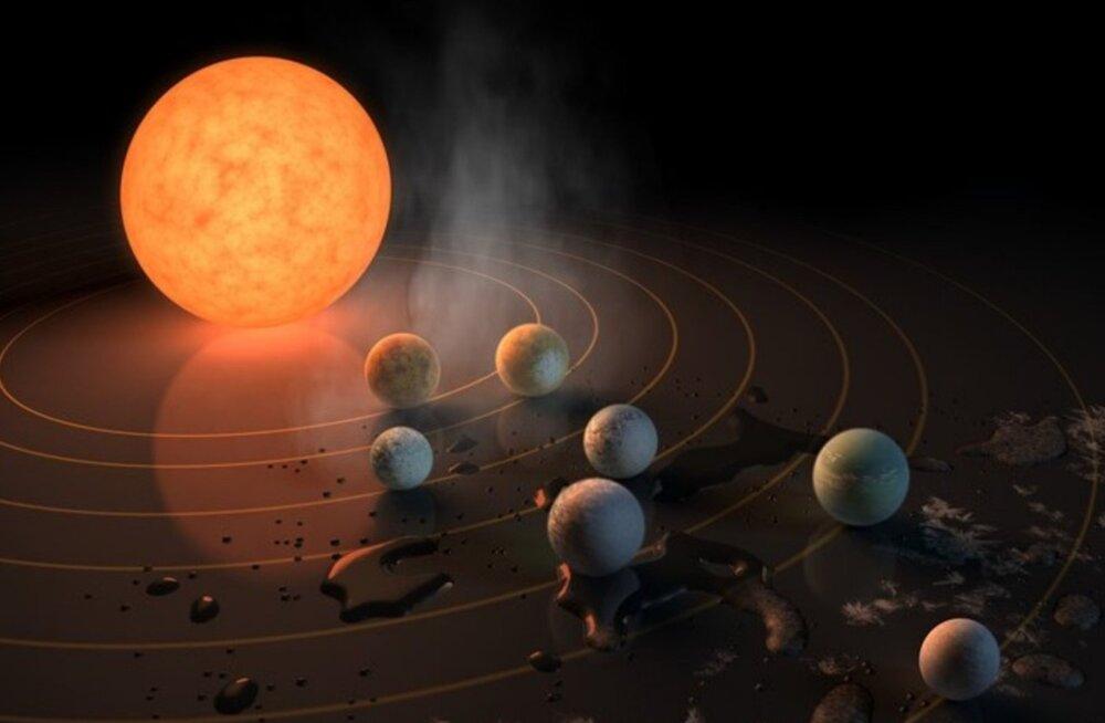 Eksoplaneedil võib olla ookean ja elukõlblik kliima