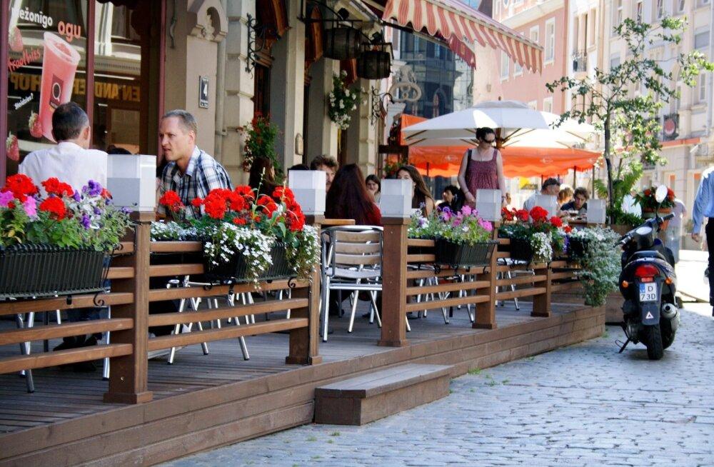 Kohvik Riia vanalinnas
