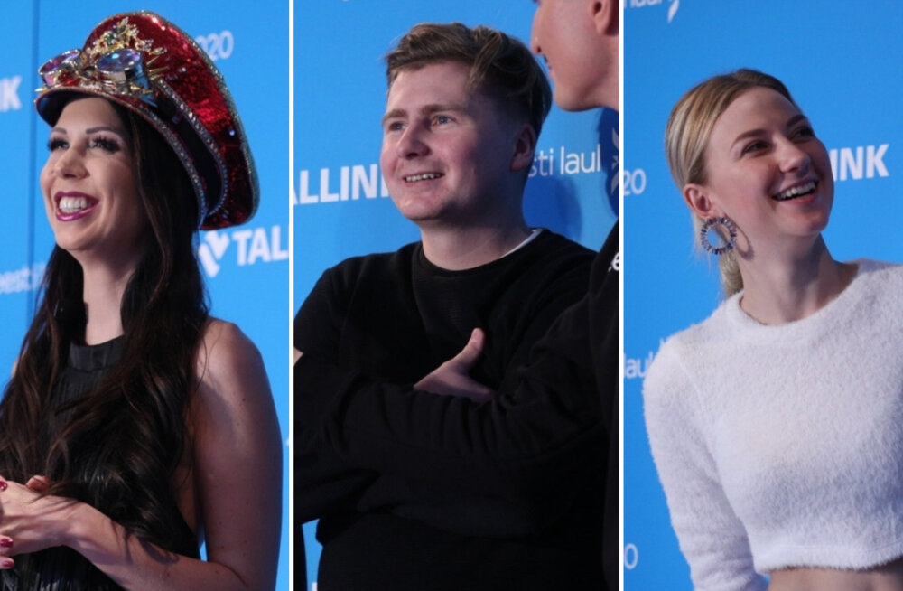 FOTOD   Eestilaululised said esmakordselt konkurentidega kokku!