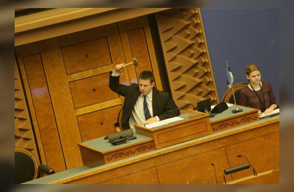 ТАБЛИЦА: Рийгикогу проголосовал за принятие Закона о сожительстве