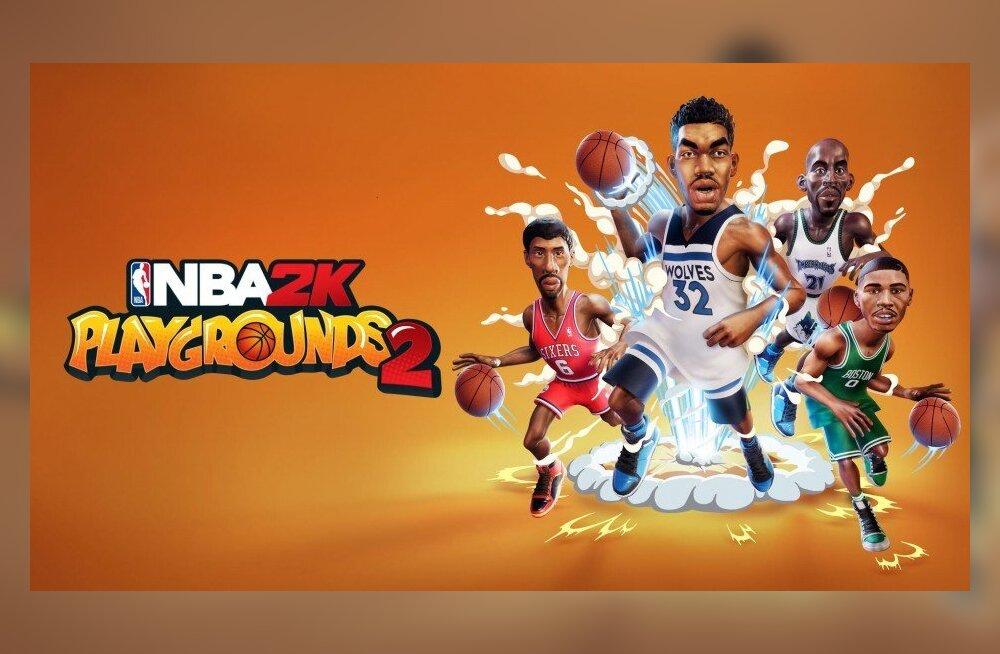 Vaatleme videomängu   NBA 2K Playgrounds 2 – käbi ei kuku korvist kaugele