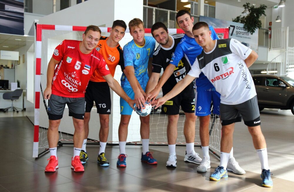 Käsipalli meistriliigas juhivad tippmeeskondi uued noored peatreenerid