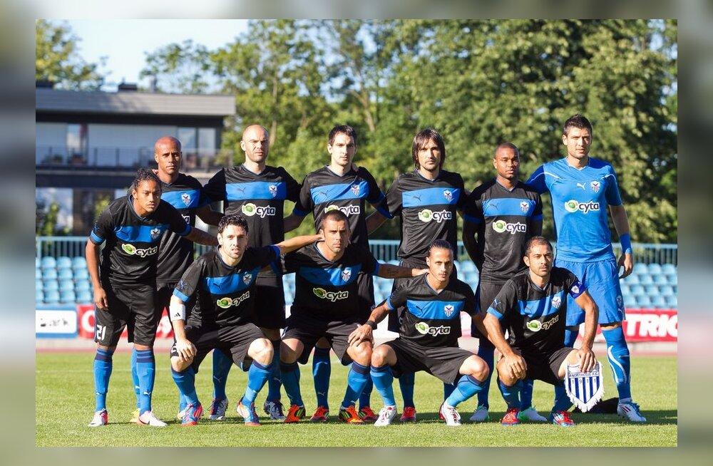 Levadia Euroopa liigas alistanud Küprose klubi visati turniirilt välja!