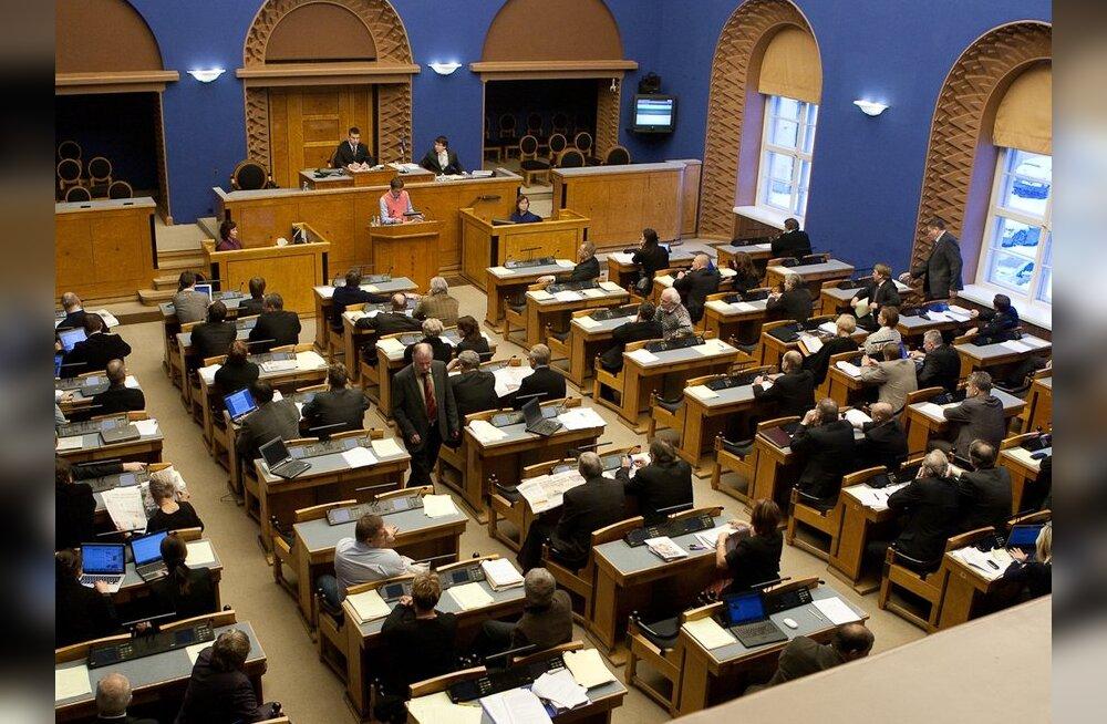 FOTOD: Toompeal tuleb esimest korda kokku XII riigikogu koosseis