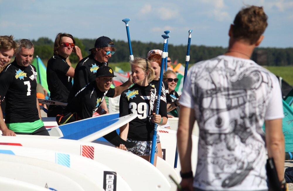 Aloha Kite Challenge surfivõistlustel võidutsesid Tarmo Ilo ja Gerli Toomepuu