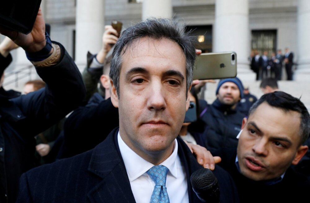 Trumpi endine advokaat Cohen tunnistas, et valetas kongressile