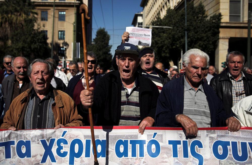Kreeka kingitus pensionäridele asjas sakslased marru
