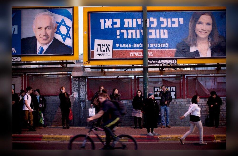 Iisraelis valitakse teisipäeval parlamenti