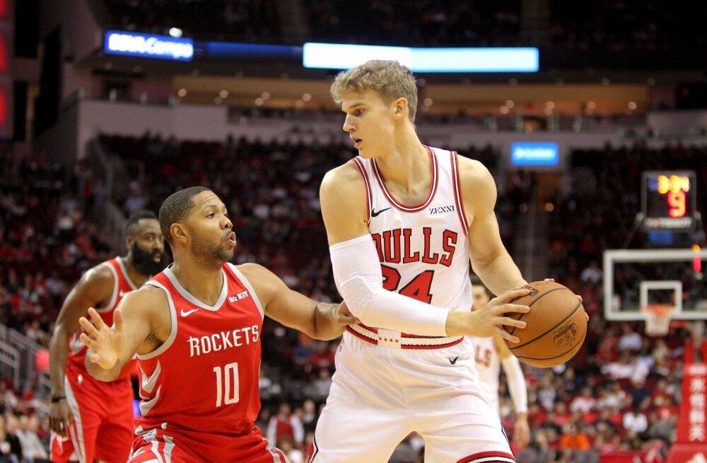 VIDEO | Markkanen naasis platsile, ent Bullsile sellest võiduks ei piisanud