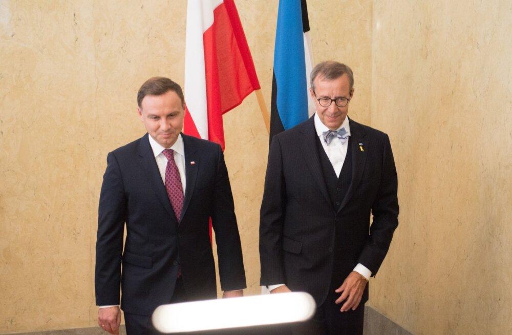 Poola president Andrzej Duda Kadriorus