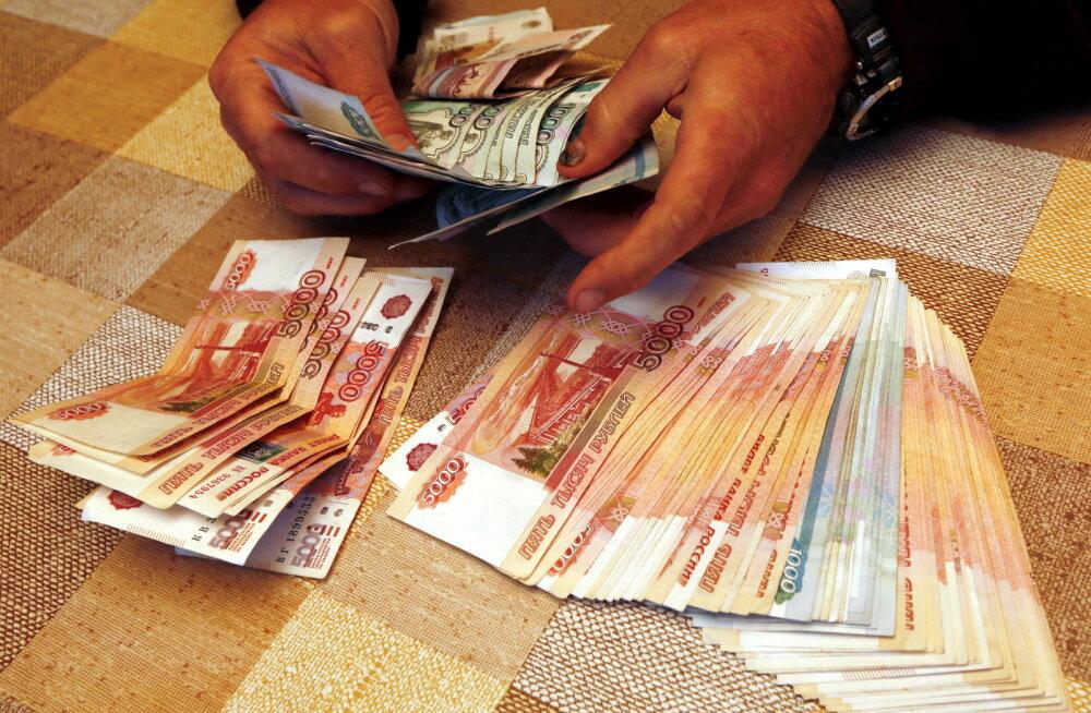 Varimajandus lokkab: Venemaa valitsus arutas sularaha kasutamise piiramist