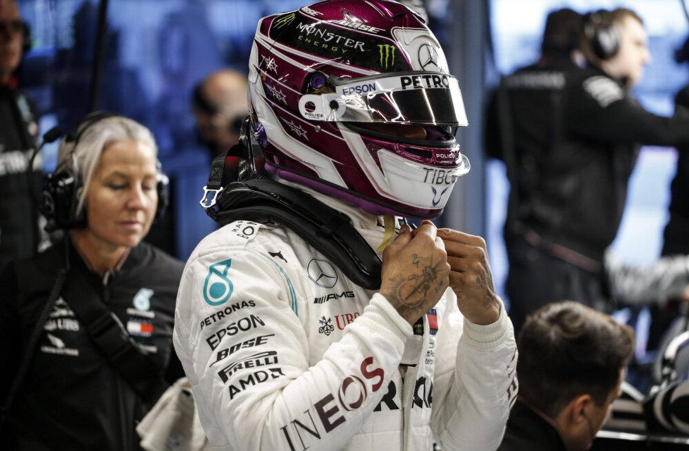 Lewis Hamilton: mul pole aimugi, kus Mercedes võrreldes konkurentidega on