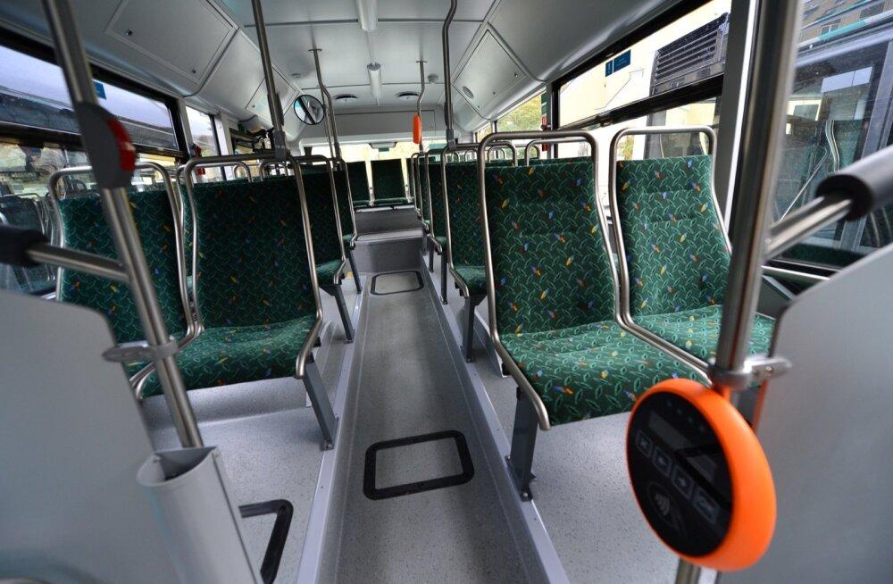 Uued bussid on kohal