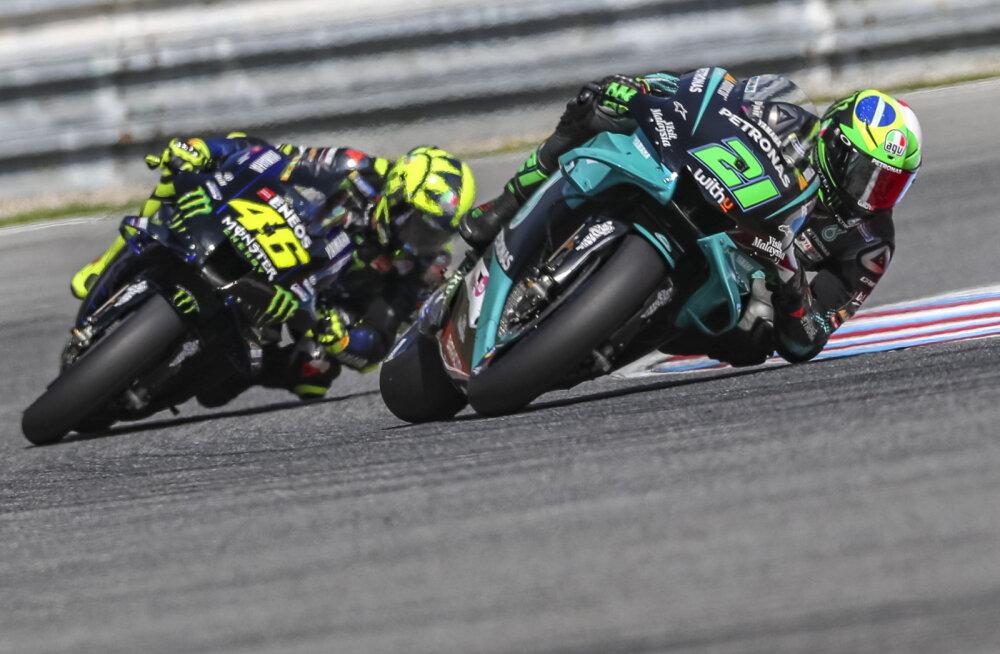 Koroonaviirus on jõudnud MotoGP-sarja