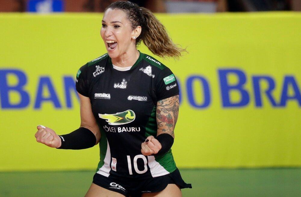 Mehena sündinud Brasiilia võrkpallurist Tifanny Abreust võib saada esimene transolümplane.