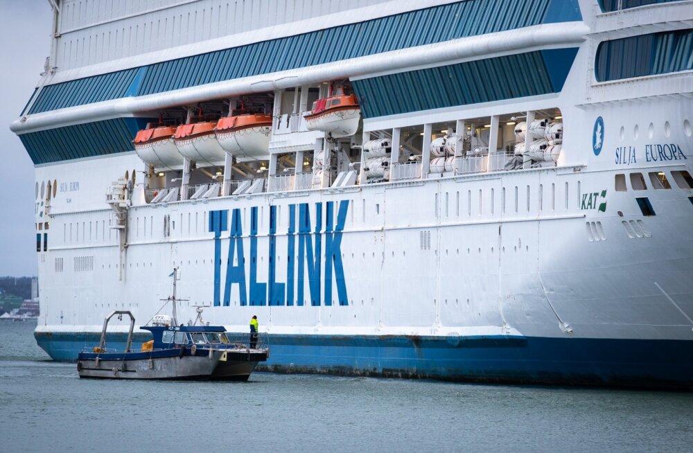 Tallink: линия Рига-Стокгольм закрыта, движение паромов между Таллинном и Хельсинки пока продолжится