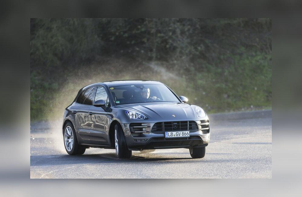 Porsche Macan: eksklusiivne esmatutvus ADAC-i testirajal!